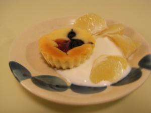 ミックスベリーのNYチーズケーキ【カップケーキ】