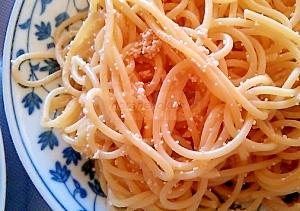 和風たらこスパゲティ