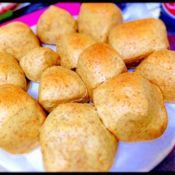 1. 豆乳でふすまパン
