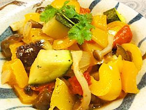 彩り野菜のマリネ