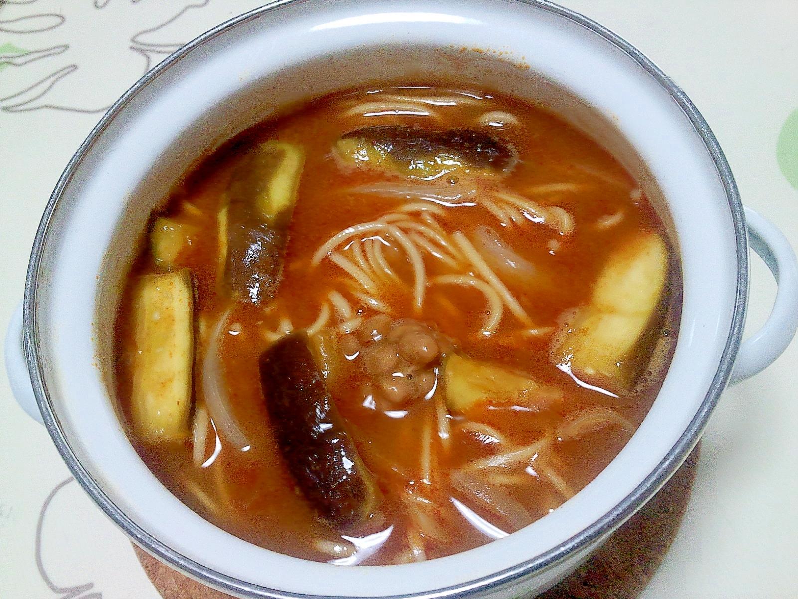 アジアンでエスニックなカレー煮麺++