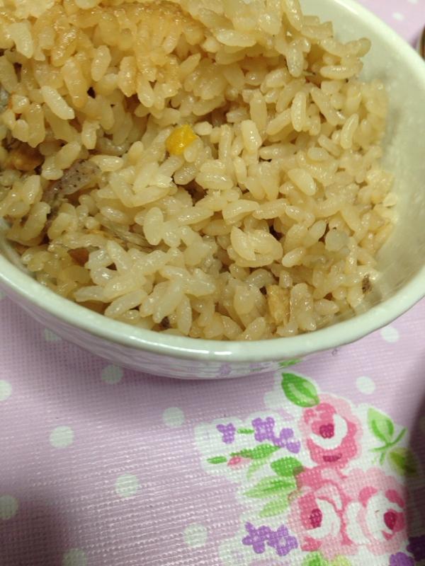 食物繊維豊富(^^)炊き込みご飯