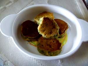 栄養満点!やわらか米粉のパンケーキ(離乳食)