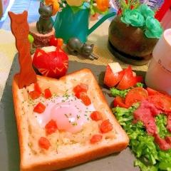 レンジ&トースターで楽チン!蕎麦粉豆乳グラタンパン