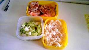 魚と野菜のヘルシー弁当