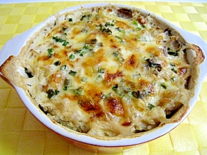 ヘルシー★豆腐と豆乳のクリームドリア