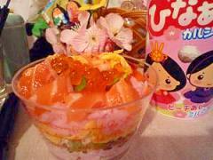 ひな祭り!大人も嬉しい☆サーモンいくらのカップ寿司