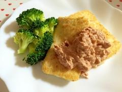 ヘルシー☆豆腐のパン粉焼き