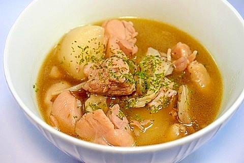 8.鶏大根のコンソメスープ