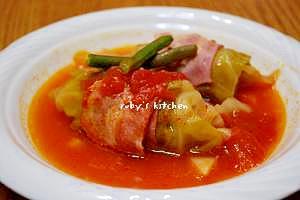 トマトスープのロールキャベツ♪ レシピ・作り方