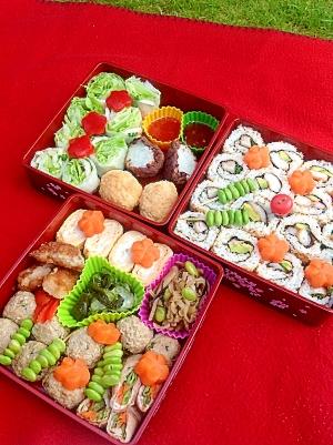 ピクニックお弁当1 レシピ・作り方