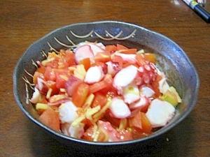 トマトとタコの酢の物