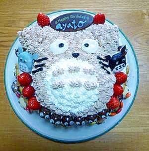 トトロのかわいいバースデーケーキ★