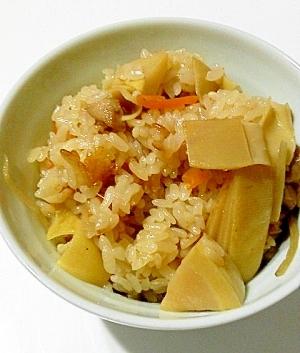 炊飯器で☆たけのこおこわ レシピ・作り方 by piromiaki 楽天レシピ