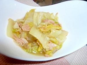 簡単☆美味しい!白菜とシーチキンのくたくた煮