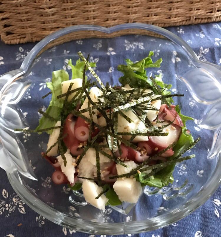 2. 長芋のサラダ