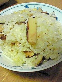 秋の味覚★松茸ごはん