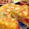 スパニッシュオムレツです☆卵と野菜の甘みがギュッ♪の参考画像