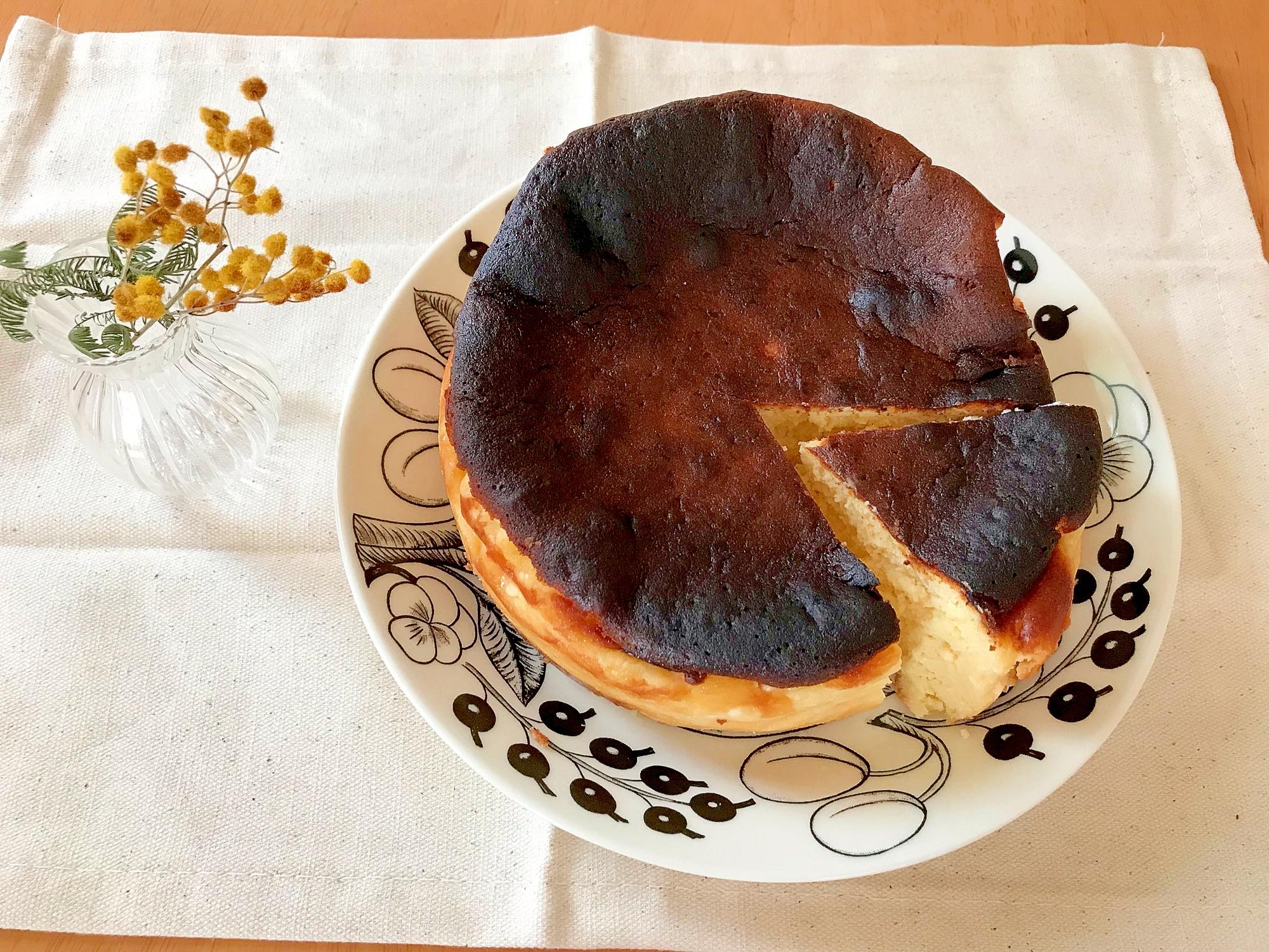 バスクチーズケーキ レシピ・作り方