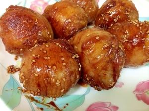 豚バラで肉巻きおにぎり♪ レシピ・作り方 by cocoa&nana|楽天 ...