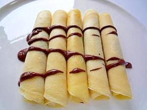 チョコバナナのクレープシュクレロール