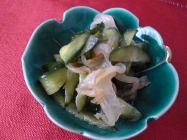 くらげの中華サラダ