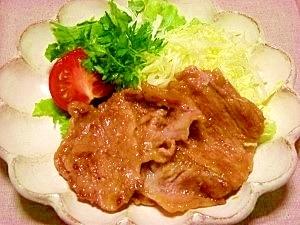 豚の生姜焼き レシピ
