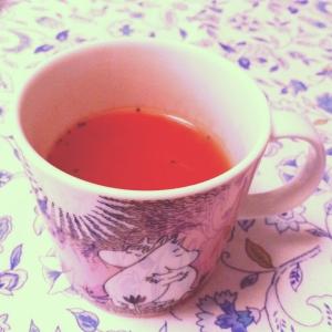 *簡単*即席!朝に飲むトマトスープ