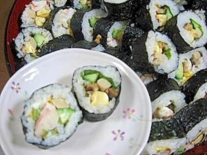穴子&エビマヨ太巻き寿司