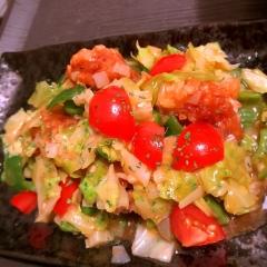 竜田揚げdeイタリアン・トマトチーズ酢鶏