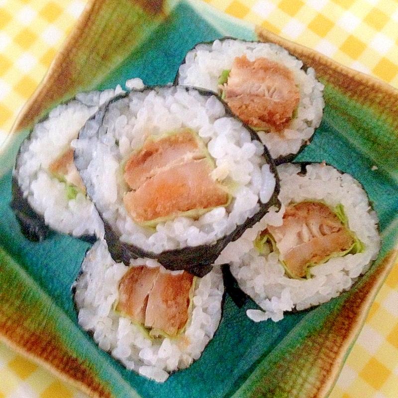 アジフライの巻き寿司★