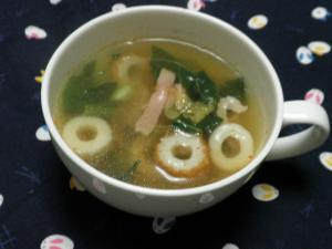 ありあわせでも美味しい♪ピリッうまスープ