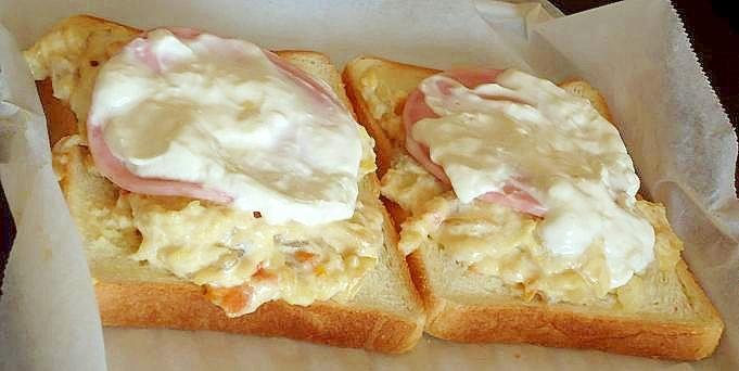 肉じゃがでボリュームアップ!乗せパン