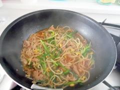 豚肉と豆もやしの炒めもの