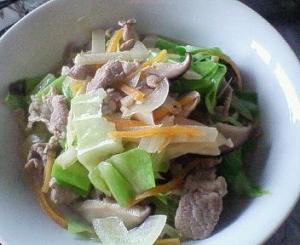旬のお野菜de長崎ちゃんぽん風