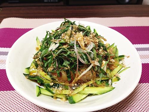 ボリューム満点ヘルシー薬味たっぷり豆腐サラダ レシピ・作り方
