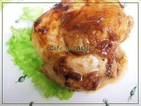 鶏むね肉のレモンガーリック焼き