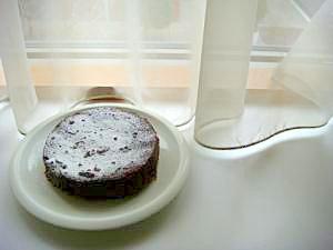 普通のお鍋で作るスイーツ★しっとりガトーショコラ