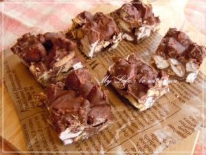 バレンタインに☆簡単!チョコクランチ レシピ・作り方 by ママちゃん*|楽天レシピ