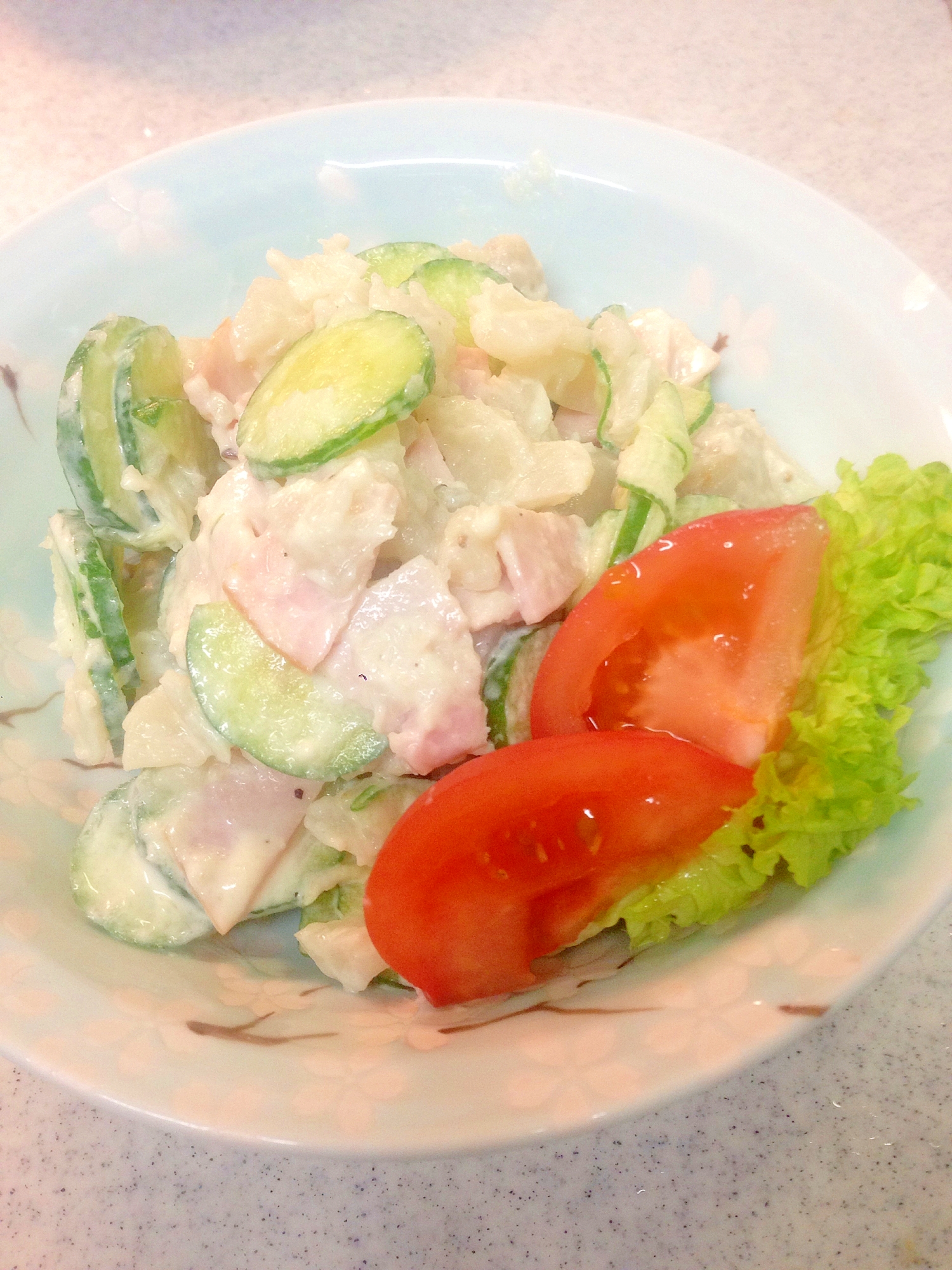 菊芋サラダ (ポテトサラダ風) レシピ・作り方