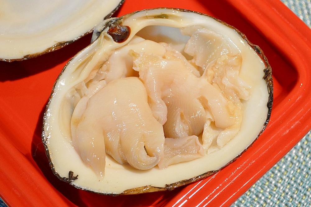 ほっき貝のお刺身
