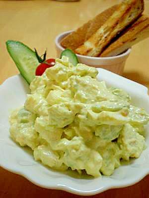 野菜によく合う☆アボカドとゆで卵のタルタル♪