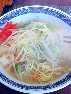【ヘルシー野菜】白菜たっぷりちゃんぽん麺 レシピ・作り方