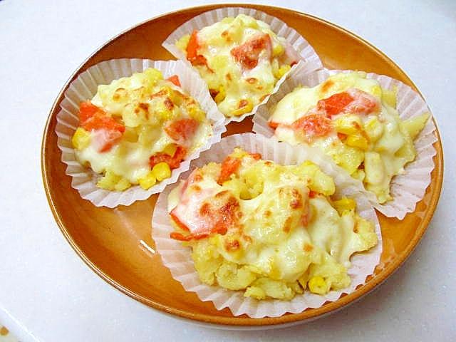 2. お弁当にぴったり簡単チーズポテト