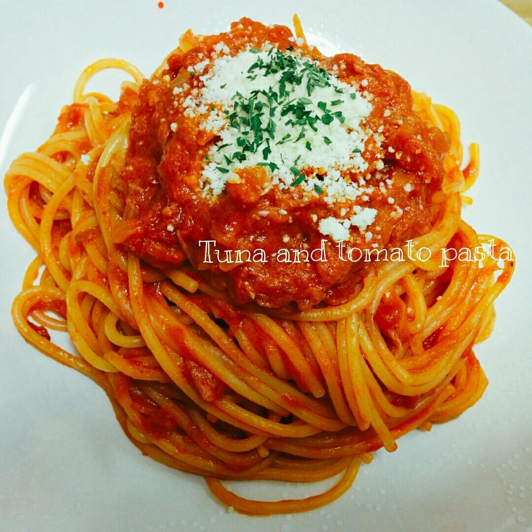 ツナとトマトのパスタ レシピ・作り方 by あんごるぁうさぎ|楽天レシピ