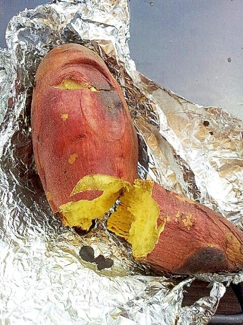 ダッチオーブンでほっくほくな焼き芋