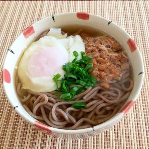 納豆 そば レシピ