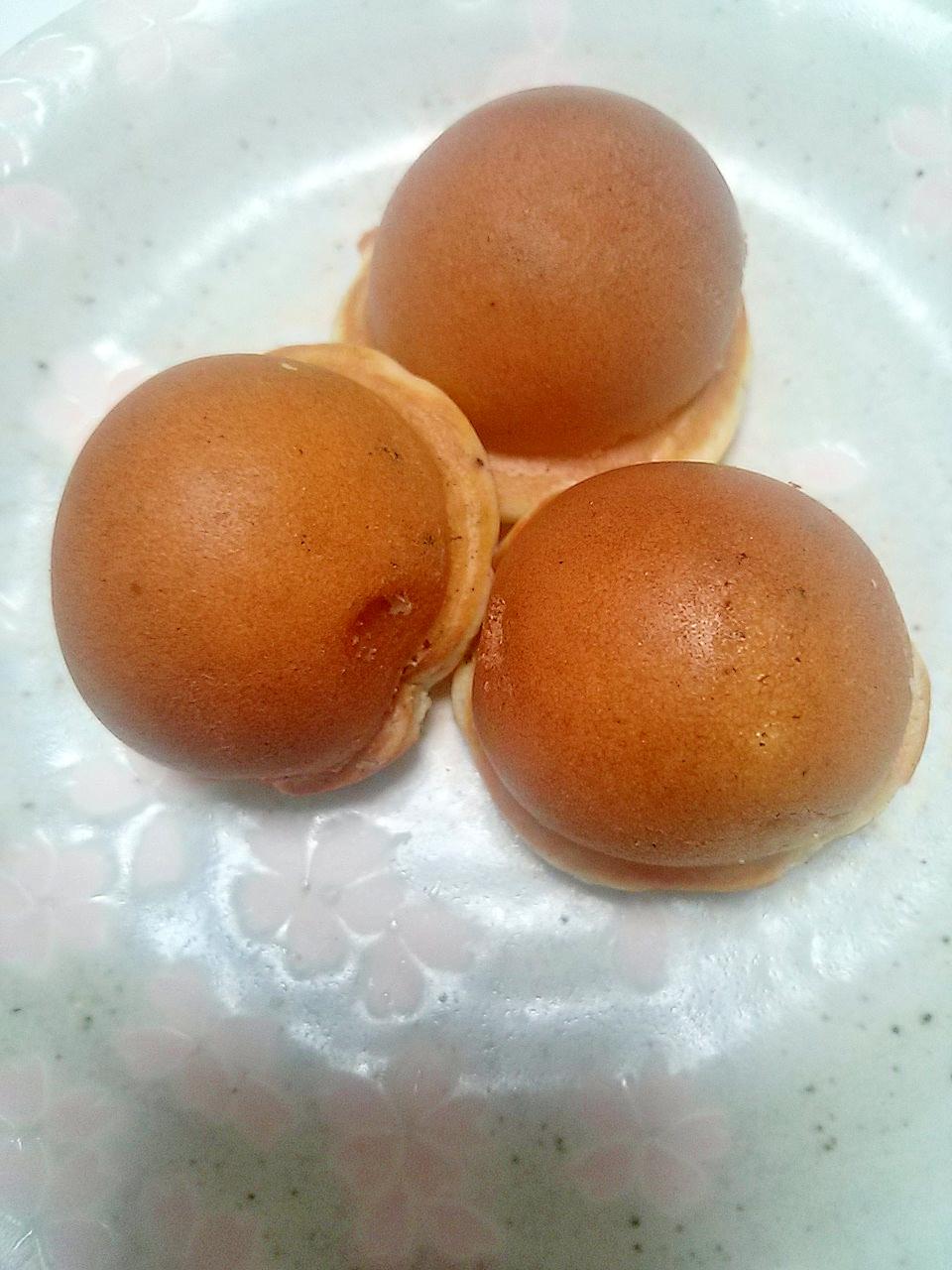 たこ焼き器de!カスタード☆ごまプチホットケーキ