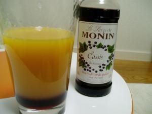 ノンアルコール カシオレ モナンシロップで遊ぼう1 レシピ 作り方