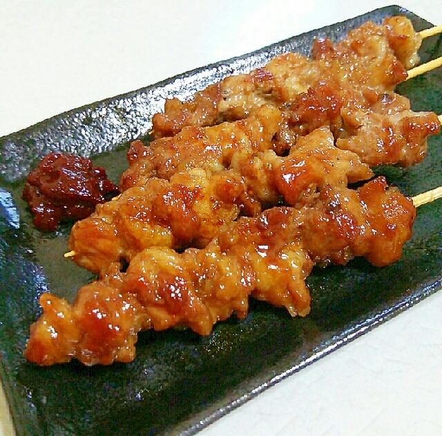 おうち居酒屋☆こま切れ肉で豚串
